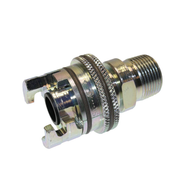 4PM6-FS P Series Dual Lock Coupling x MPT with Flanged Sleeve Option | Texas Pneumatic Tools, Inc.