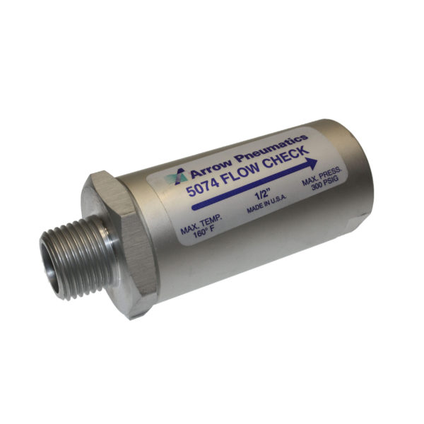 5074 Half Inch Maile Air Flow Check Valve | Texas Pneumatic Tools, Inc.