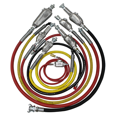 Hose Whip Assemblies with Lubricators