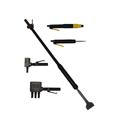 Needle, Chisel, Piston and Long Reach Scalers