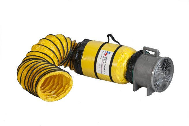 """TX-JF12 shown with optional 12"""" ducting attached 