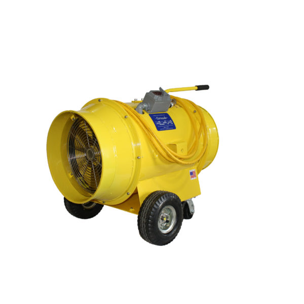 TB-16-EXP 16 Inch Tornado Blower with Explosion Proof Motor | Texas Pneumatic Tools, Inc.