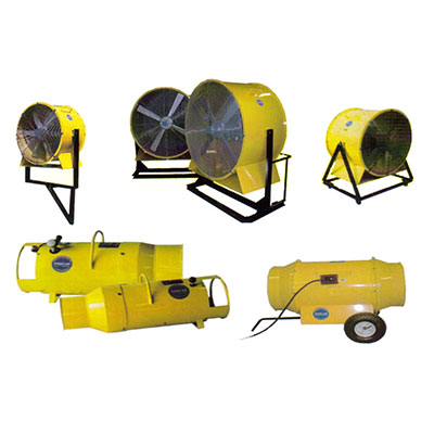 Prime Air Blowers (Electrically Operated - Explosion Proof & TEFC Motors)