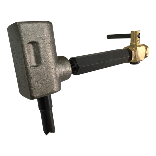 S1-AC Single Piston Scaler with Air Cock Handle | Texas Pneumatic Tools, Inc.