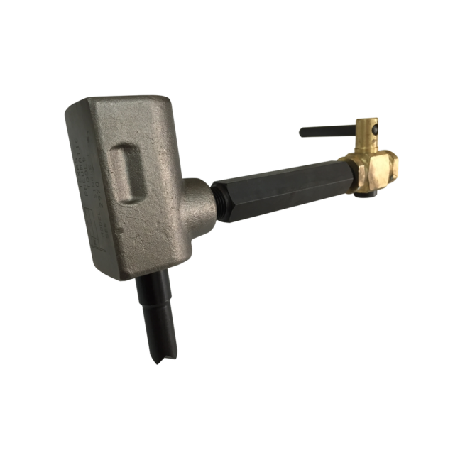S1-AC-151 Single Piston Scaler with Air Cock Handle and TX-00151 Piston | Texas Pneumatic Tools, Inc.