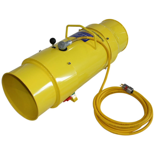TB-12-EXP 12 Inch Tornado Blower with Explosion Proof Motor | Texas Pneumatic Tools, Inc.