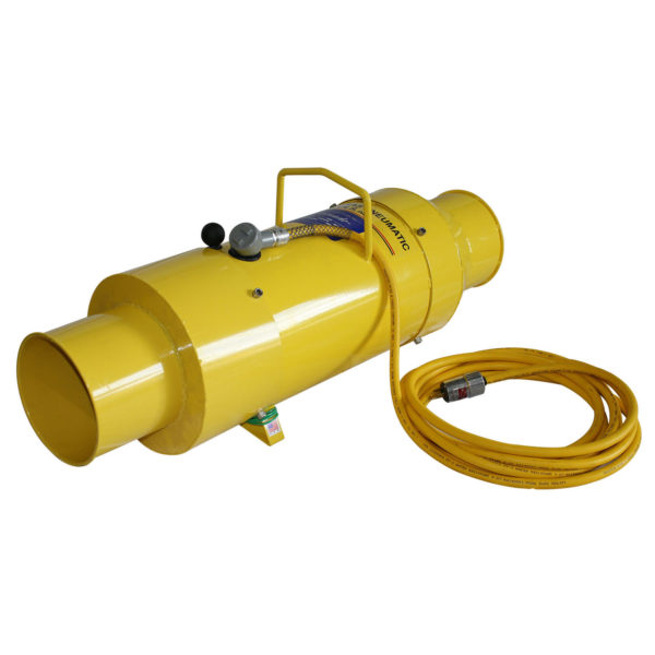TB-8-EXP 8 inch Tornado Blower with Explosion Proof Motor | Texas Pneumatic Tools, Inc.