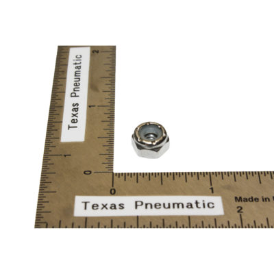 TX-DCS-41 #10-24 Stainless Nyloc Nut Replacement Part for Dust Collection System   Texas Pneumatic Tools, Inc.