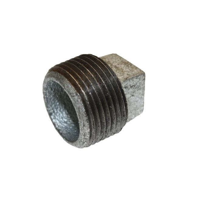 TX-10065 Galvanized One Inch Square Head Plug | Texas Pneumatic Tools, Inc.