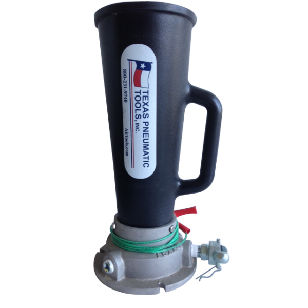 TX-3AMS-P Three Inch Air Mover with Polyurethan Horn | Texas Pneumatic Tools, Inc.