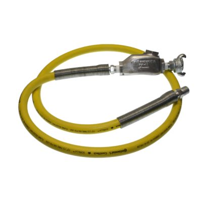 TX-3GHW Hose Whips using Band Clamps with Gorilla 500 PSI - MPT Hose End | Texas Pneumatic Tools, Inc.