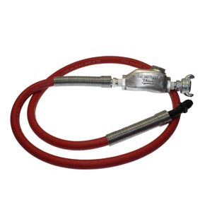 TX-4HW-1/2 Hose Whip Assembly with MPT Bent Swivel   Texas Pneumatic Tools, Inc.