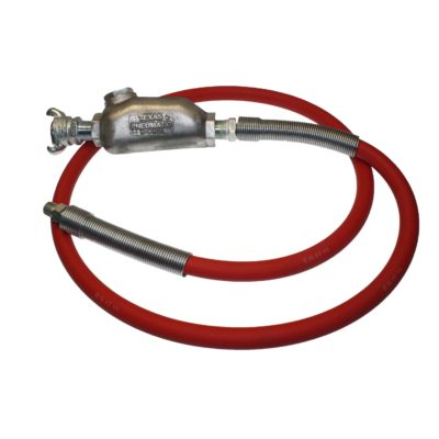 TX-5HW Hose Whip Assembly with MPT Hose End | Texas Pneumatic Tools, Inc.