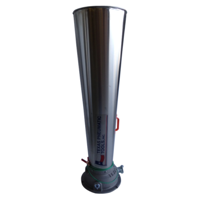 TX-6AM-SH Six Inch Air Mover with Stainless Steel Horn | Texas Pneumatic Tools, Inc.
