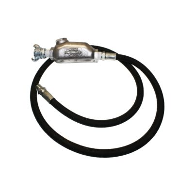 TX-6HW-HYD Hydraulic Hose Whip Assembly with Straight MPT Swivel | Texas Pneumatic Tools, Inc.
