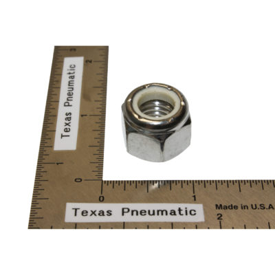 """TX-DCS-37 3/8""""-16 Stainless Nyloc Nut Replacement Part for Dust Collection System   Texas Pneumatic Tools, Inc."""