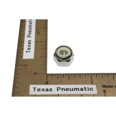 """TX-DCS-31 1/4""""-20 Stainless Nyloc Nut Replacement Part for Dust Collection System   Texas Pneumatic Tools, Inc."""