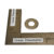 "TX-DCS-39 5/6"" Stainless Flat Washer Replacement Part for Dust Collection System 