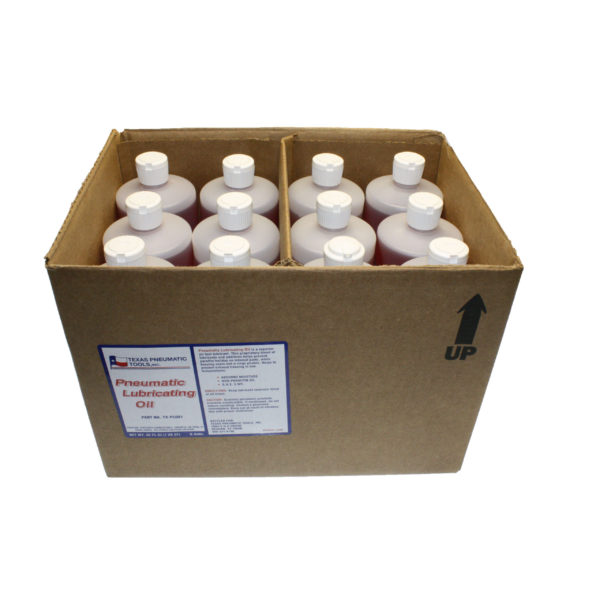 TX-PL001 Case of 12 Bottles of Pneumatic Lubricating Oil   Texas Pneumatic Tools, Inc.