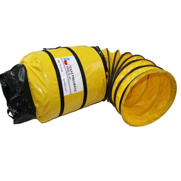 TX-SAC-N-GO-16 16 Inch Ducting with Attached Storage Bag | Texas Pneumatic Tools, Inc.