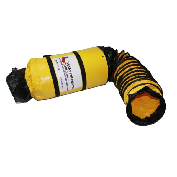 TX-SAC-N-GO-8 8 Inch Ducting with Attached Storage Bag | Texas Pneumatic Tools, Inc.