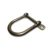 """TX-SG2005 Stainless Steel Wide """"D"""" Shackle 