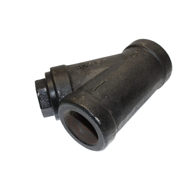 """Y008 Two Inch Cast Iron """"Y"""" Line Strainer 