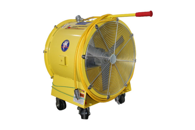 MC-24 24 inch Man Cooler with Totally Enclosed Fan Cooled | Texas Pneumatic Tools, Inc.